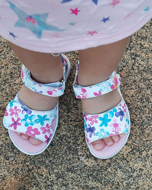 Healthy sandals